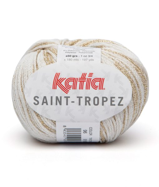 yarn-wool-sainttropez-knit-cotton-polyester-polyamide-off-white-gold-spring-summer-katia-96-g
